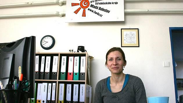 Magda Hluchá, ředitelka Centra pro zdravotně postižené.