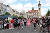 Slavnosti v Mladé Boleslavi si nenechalo ujít několik stovek návštěvníků