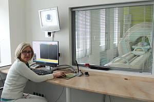 Primářka oddělení nukleární medicíny Ingrid Špalková
