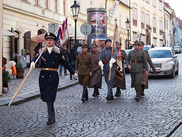 Mladoboleslavští legionáři se svého úkolu zhostili se ctí.
