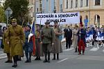 Mladá Boleslav si připomínala sto let od vzniku Československa.