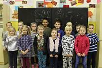 Třída 1. A Masarykovy základní školy a Mateřské školy Debř.