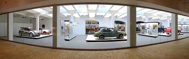 Nové prostory Škoda Muzea