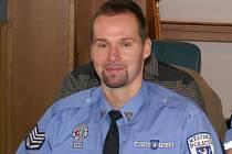 Oceněný strážník Petr Šlár