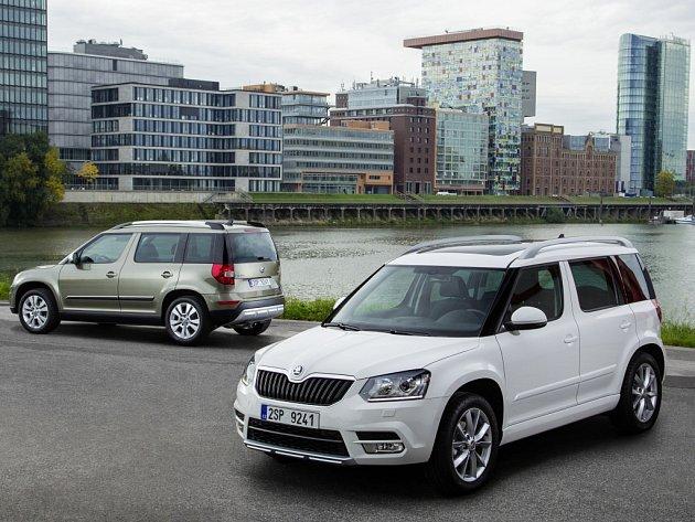 Kompaktní SUV ŠKODA Yeti zvítězila rovněž podruhé v hodnocení importovaných vozů v kategorii 'SUV do 30.000 Euro'.