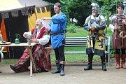 Bělá naposledy přivítala Karla IV.