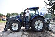 Do Kropáčovy Vrutice se opět sjeli milovníci traktorů a zemědělské techniky.