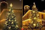 Nejkrásnější vánoční strom na Mladoboleslavsku v Mnichově Hradišti.