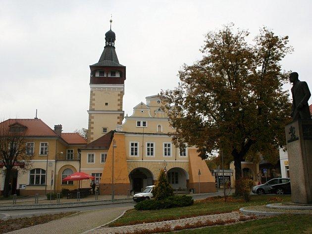 Město Dobrovice - ilustrační foto