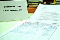 Pomohou stovky podpisů v petičním archu k výstavbě supermarketu v Bělé pod Bezdězem?