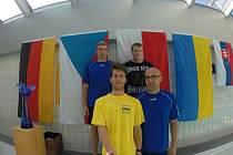 Společní selfie boleslavských plaveckých veteránů