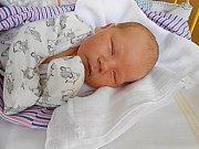 Radim Coritar se narodil 30. září, vážil 4,07 kg a měřil 52 cm. S maminkou Blaženou a tatínkem Lukášem bude bydlet v Sojovicích.