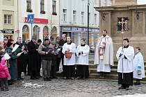 Svátek Uvedení Páně do chrámu v Mladé Boleslavi.
