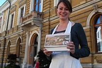 Lenka Procházková pokřtila uličník.