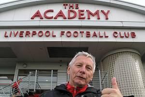 Boleslavák Karel Beran navštívil juniorskou akademii FC Liverpool