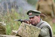 Vojenské cvičení členů SPVH Sever 2013, kteří secvičovali společně se členy LIR10 (C&K LandwehrInfanterie Regiment Nr.10 Mladá Boleslav) válečný boj z 1.světové války 1917 východní fronty ČS legie, se uskutečnilo o víkendu v Dolním Bousově.
