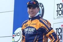 Cyklokrosař Petr Dlask