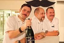 Křest kalendáře Movember Boys 2014