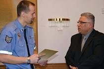 Strážníci byli oceněni za své služby