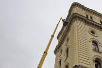 Budova stavebního úřadu je po zimě opravována