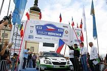 Jan Kopecký na startu Rally Bohemia 2013