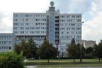 Budova Pentagonu Škoda Auto v Mladé Boleslavi.