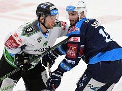 Hokejisté Boleslavi prohráli i druhý domácí zápas předkola a s Chomutovem se utkají v tomto týdnu ještě popáté.