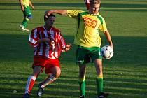 Kosořičtí fotbalisté se v Lužci neprosadili.