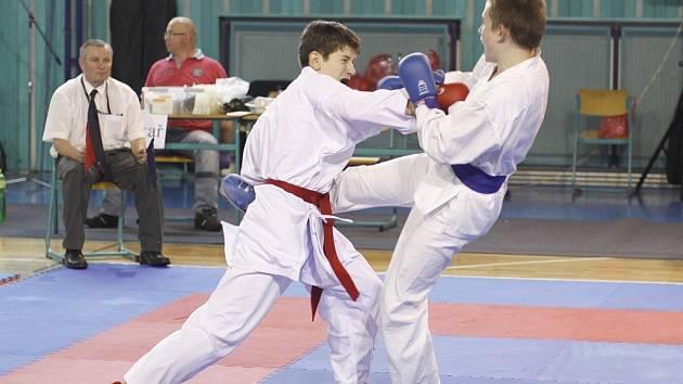 Karate Auto Škoda - Riedl na turnaji v Nymburce