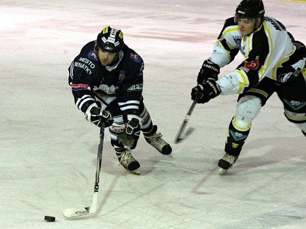 I. hokejová liga: HC Benátky nad Jizerou - SK Kadaň