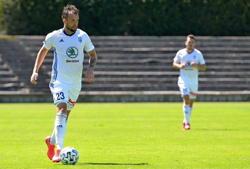 Fotbalista Mladé Boleslavi Lukáš Budínský