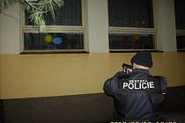 Zadržení pachatele vloupání přímo v budově mateřské školy.