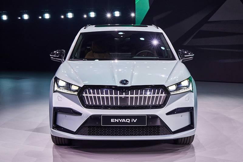 Z představení vozu Škoda EnyaQ