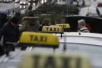 Taxikáři mají šarvátky i mezi sebou