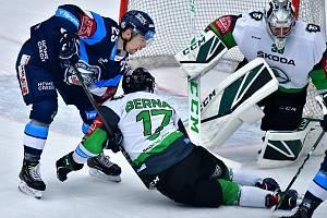 Tipsport extraliga: BK Mladá Boleslav - HC Bílí Tygři Liberec.