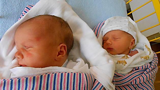 Andrew a Anthony Folprechtovi se narodili 9. ledna. Andrew vážil 3,52 kg, měřil 49 cm a Anthony vážil 2,85 kg a měřil 48 cm. Maminka Aneta a tatínek Aleš si je odvezou domů do Rokytovce.
