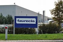 Areál firmy Faurecia.