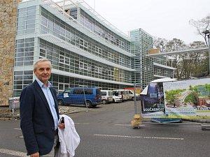 Stanislav Najman, ředitel Pírkova sanatoria.