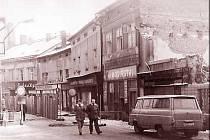 Železná ulice v roce 1987