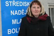 Ivona Horáková, vedoucí Naděje v Mladé Boleslavi.