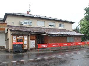 Zavřená prodejna Horní Stakory