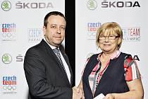Dohodu o spolupráci uzavřel Václav Koucký, vedoucí marketingu a strategie automobilky a Alena Erlebachová, výkonná předsedkyně Českého paralympijského výboru.