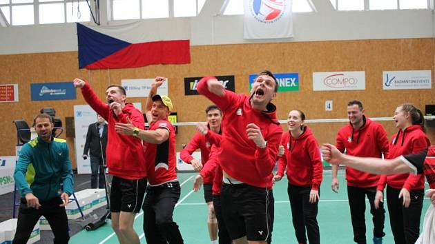 Mistři České republiky v badmintonu družstev 2019