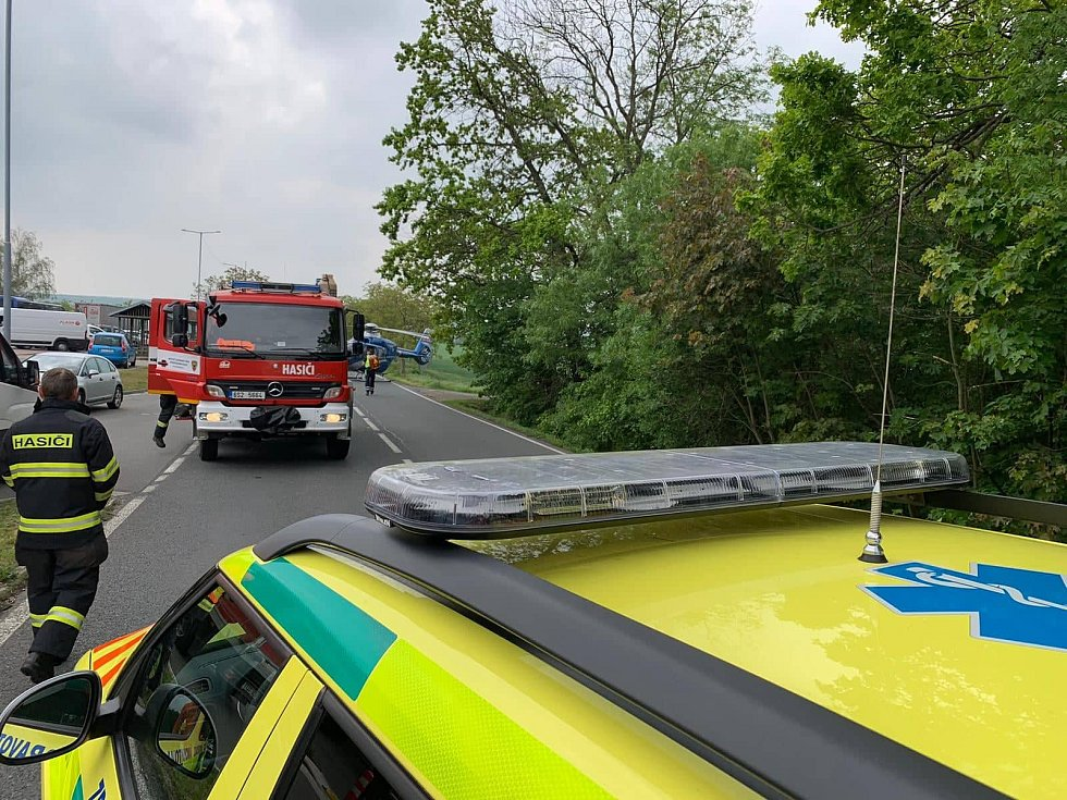 K vážné dopravní nehodě došlo v pátek u Brodců.