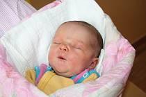 NIKOL Bereščáková se narodila rodičům Laďce a Mariánovi 16. března. Vážila 3,2 kilogramů a měřila 51 centimetrů. Doma v Mladé Boleslavi se na ni těší tříletá sestřička Nela.