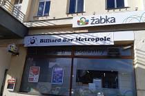 Billiard Bar Metropole v Mladé Boleslavi.