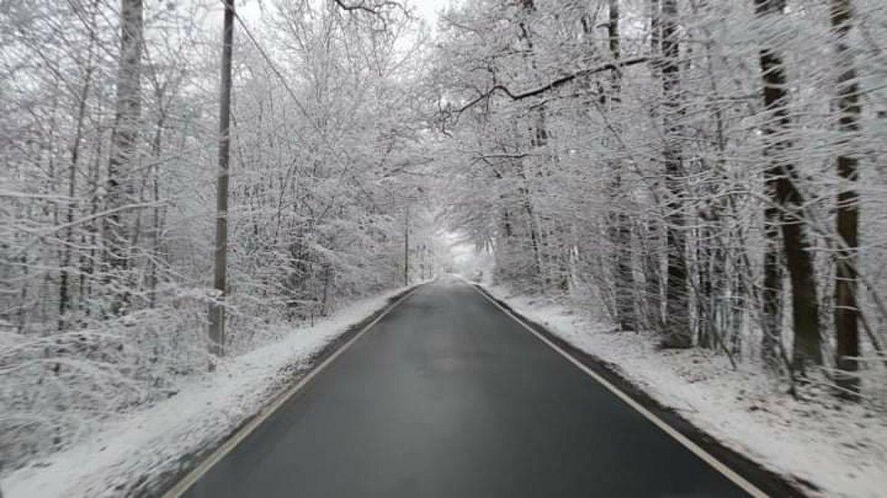 Mladoboleslavsko zasypal sníh