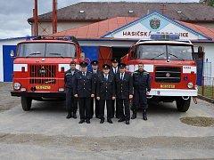 Hasiči z Okříšek oslavili letos již  115. výročí založení svého dobrovolného sboru.