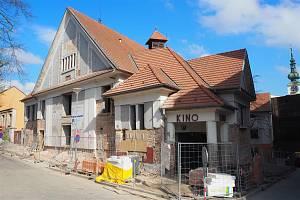 Kino Moravia v Třebíči v dubnu 2019.
