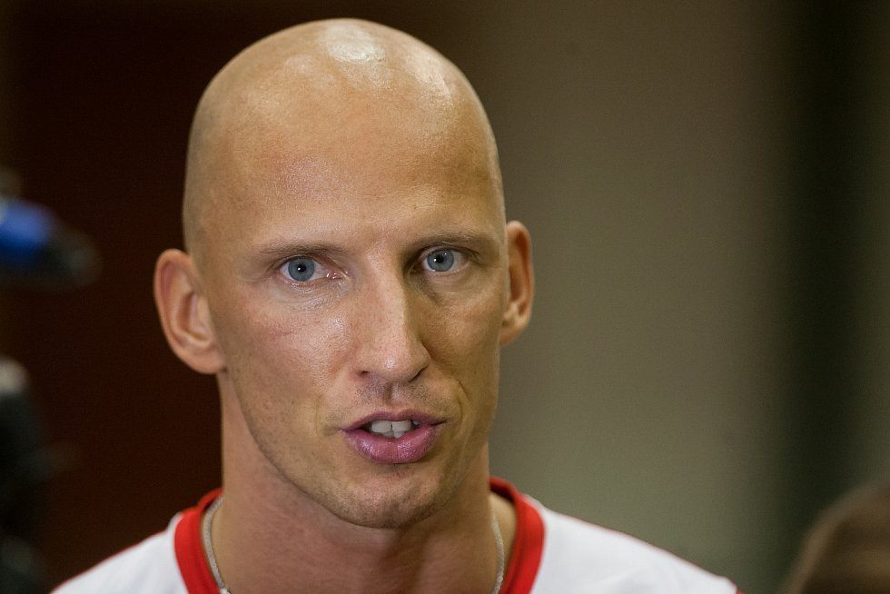 Atlet Petr Svoboda.